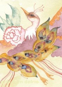 Watercolor by Gretchen Del Rio