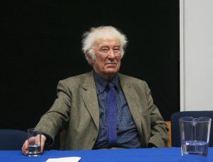 Seamus Heaney (1939-2013), Irish poet