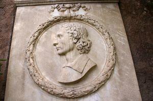 Medallion portrati of John Keats (1795-1821), English Romanic Poet