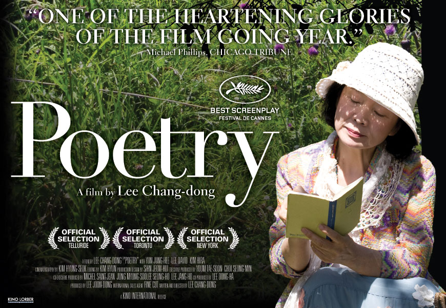 Poetry Captivated By This 2010 South Korean Film English Subtitles Directed By Lee