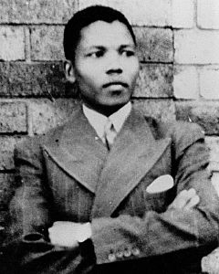 Nelson Mandela, 1937