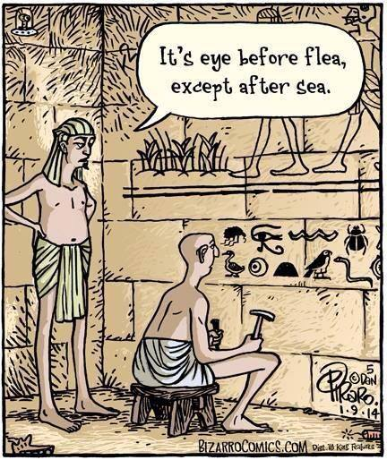 From the genius, Dan Piraro, and too funny not to share with other writers.