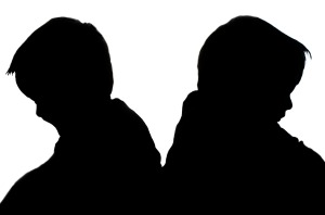 silhouettes-of-children