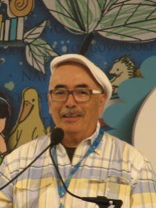 Juan Felipe Herrara (b. 1948), American poet and writer, photo by SlowKing
