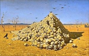 """The Apotheosis of War"" 1871, Vasily Vereshchagin"