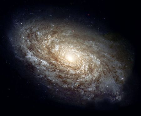 spiral galaxy in Constellation, Coma Berenices, 60 million light years from Earth