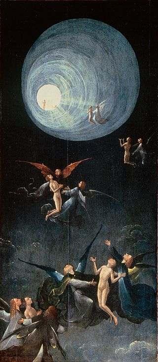 Ascent of the Blessed, Hieronymus Bosch (c. 1450-1516), Early Netherlandish Painter