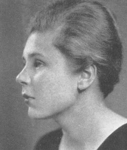 Elizabeth Bishop, 1934 Vassar Yearbook, Public Domain Photograph