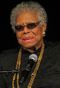 American She-Poet Maya Angelou (1928-2014), Photo 2013, York College under CC BY-SA 2.0