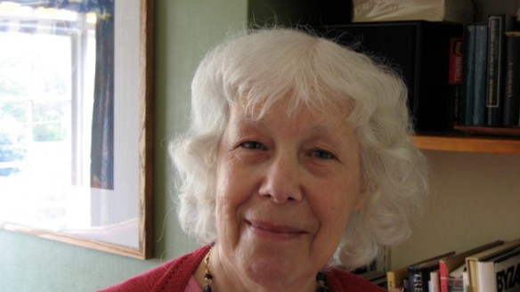 Award Winning British Poet, Myra Schneider (b. 1936), Writer, Writing Coach, Consultant to Second Light Nework of Women Poets