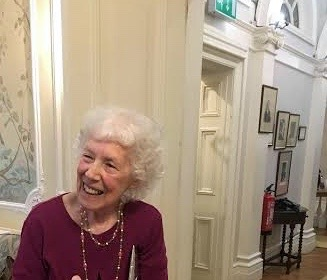 English Poet Myra Schneider at her 80th Birthday celebration and the launch of her 12th collection