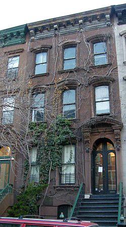 Langston Houghs' House in Harlem