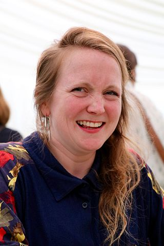 Hollie Poetry a.k.a. Hollie McNish, poet, author and spoken word artist