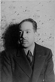 Langston Hughes (1902-1967), poet, novelist, playwright, columnist and social activist