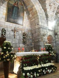 Photo's by Juliette MerdassAbdel Khalek of the Melchite Church that my grandfather attended in his hometown: Kfarselwan - Mount Lebanon