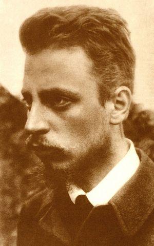 Bohemian-Austrian Poet Rainer Maria Rilke (1875-1926)