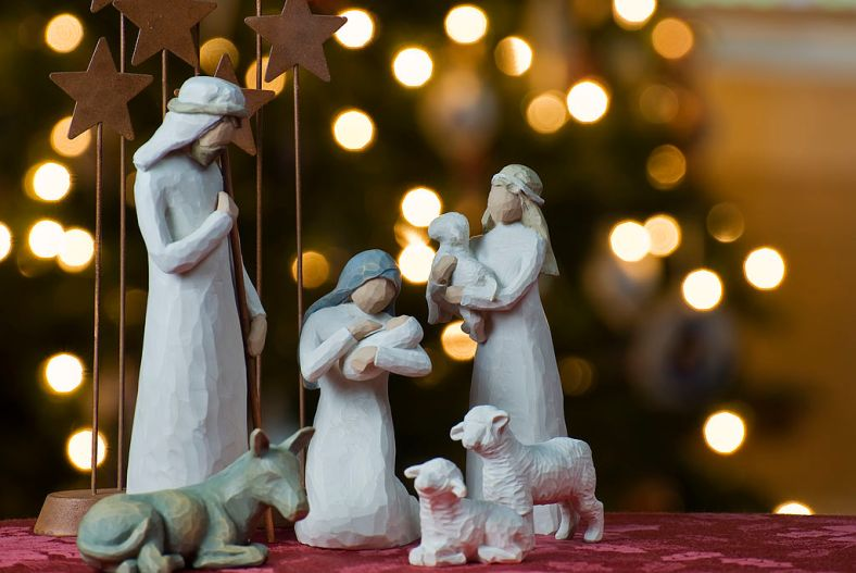 Nativity Scene courtesy of Jeff Weese under CC BY 2.0 license