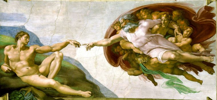 Michelangelo's Creation of Adam