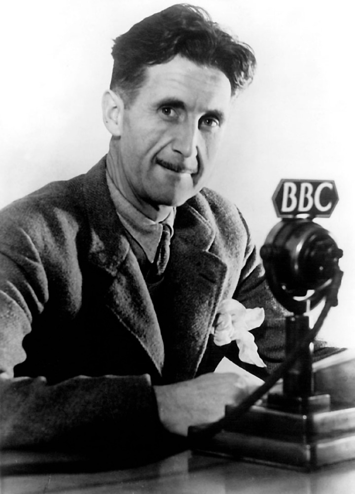 George Orwell (1903-1950), BBC Photograph in the public domain an curtesy of Penguin Books, India