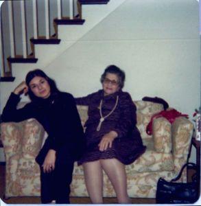 With Mom circa 1980, San Francisco