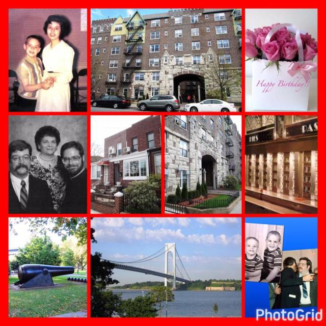 A sweet kind photo-grid made for me today by my cousin Dan. Meaningful, memorable photos all.