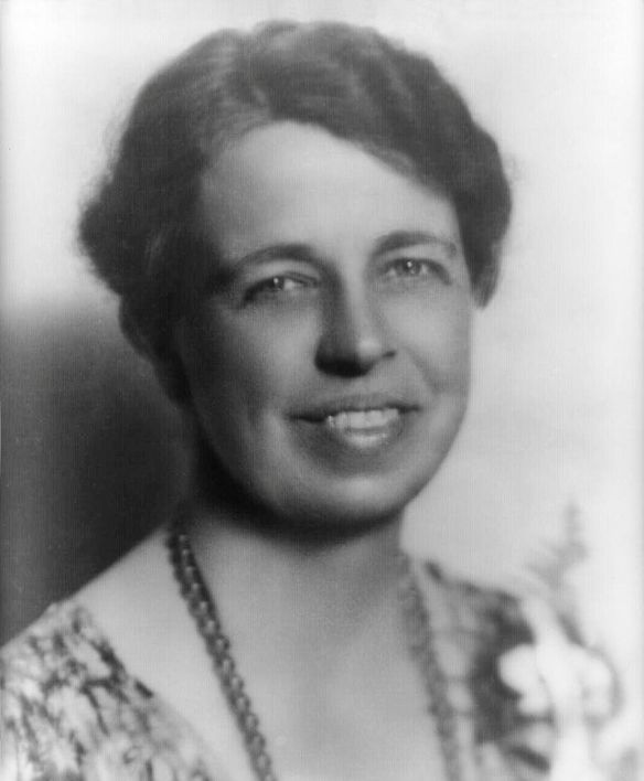 "Anna ""Eleanor"" Roosevelt from the United States Library of Congress's Prints and Photographs division under the digital ID cph.3c08091."