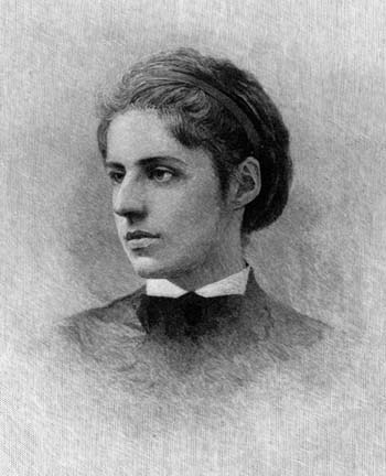 Emma Lazarus, 1849 - 1887