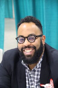 2015, Kevin Young at Library of Congress National Book Festival September 5, 2015 Washington, DC, by fourandsixty, CC BY SA 2.0